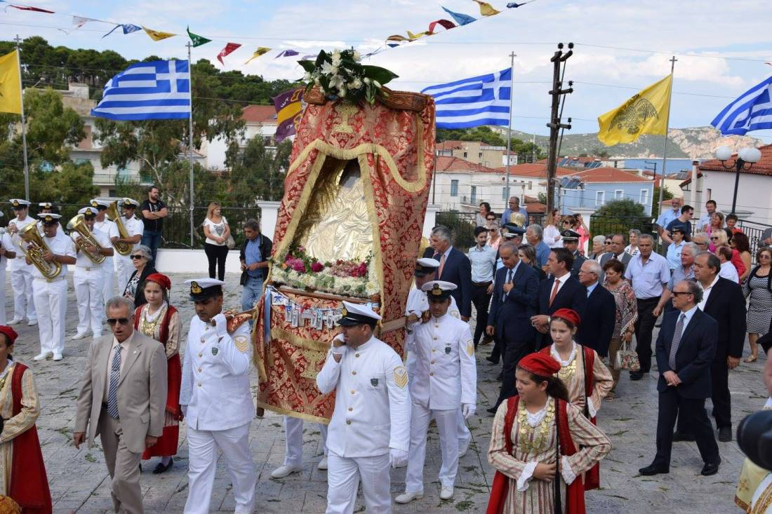 Celebration of the Virgin Mary of Tricherousa